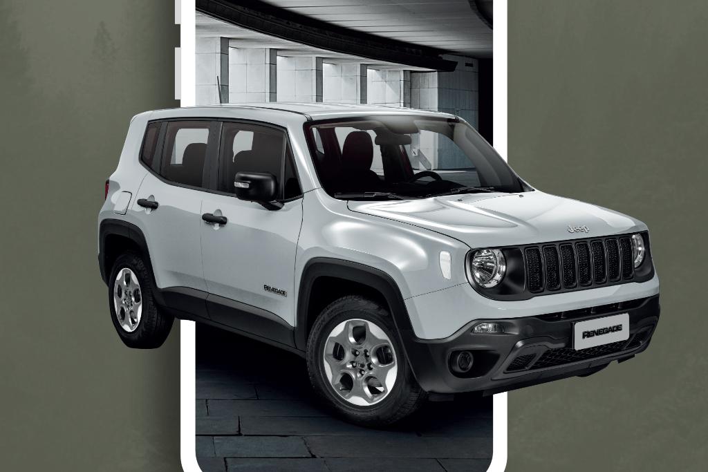 Jeep lanza su plataforma digital con una versión exclusiva del Renegade