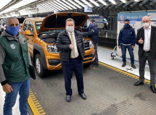 Volkswagen reinicia la producción en Pacheco