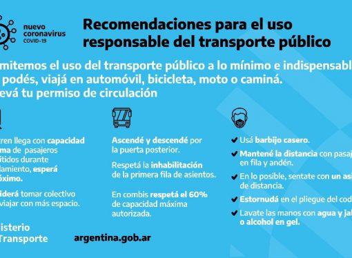 Coronavirus: cómo utilizar el transporte público