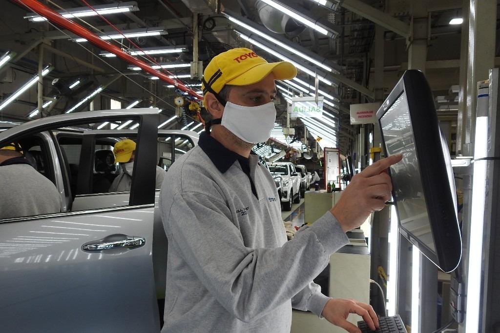 Toyota reanuda la producción en Zárate