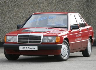 A 30 años del Mercedes 190 eléctrico