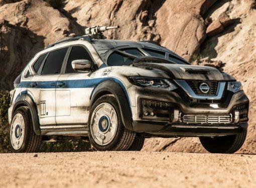 Nissan crea una X-Trail 'Halcón Milenario'