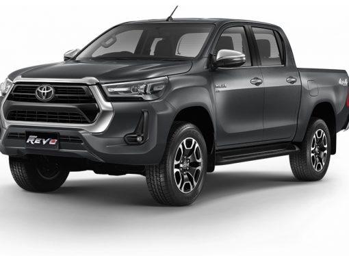 Así es el rediseño de la Toyota Hilux (y de la SW4)
