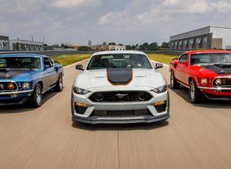 Ford revive al Mustang Mach 1 tras 17 años