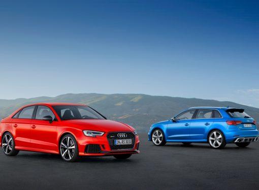 Audi lanza los RS3 Sportback y Sedán