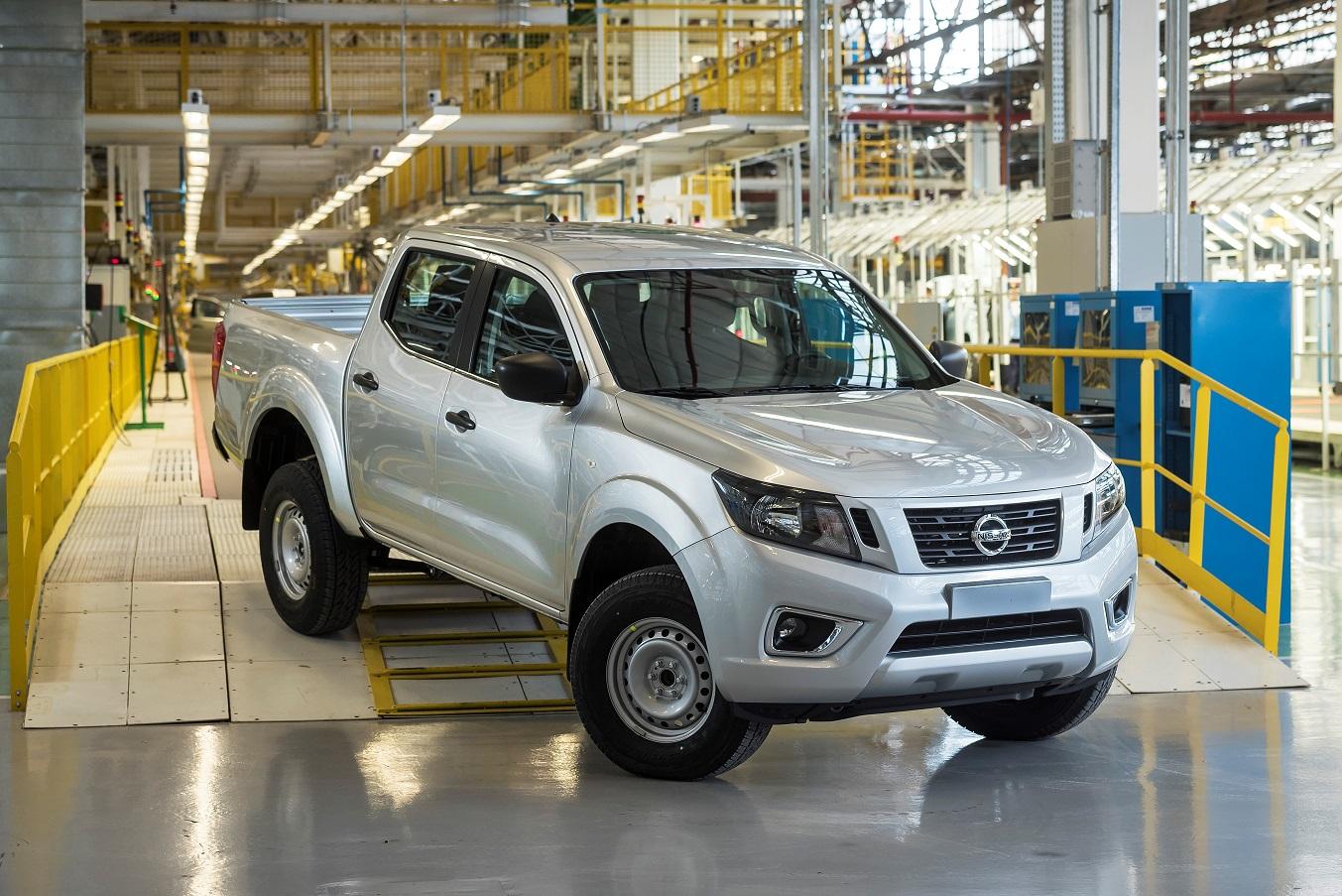 Nissan inicia la producción de la Frontier cordobesa