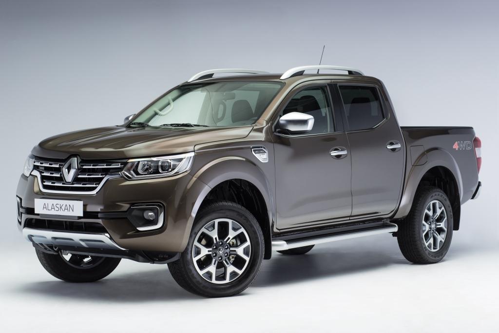 Renault producirá la Alaskan a fin de año en Santa Isabel