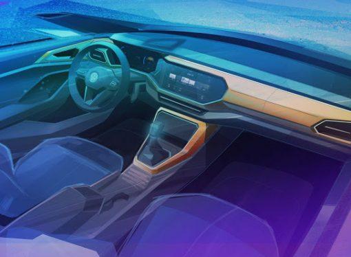 El VW T-Cross tendrá un interior similar al Polo