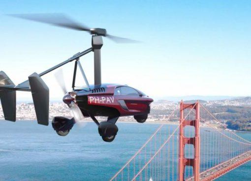 En España venden el primer auto volador