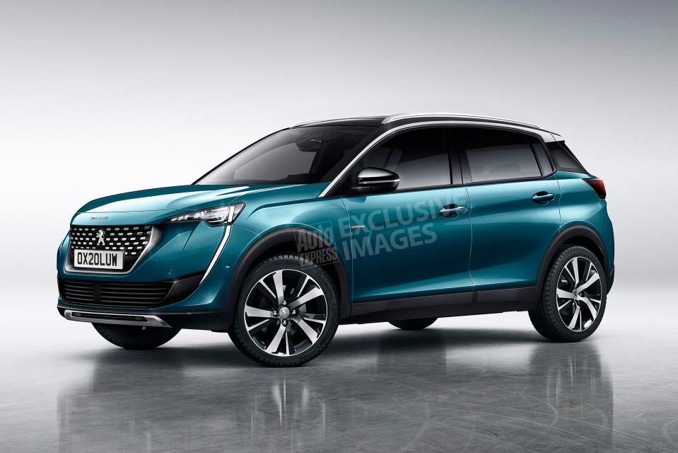 Así podría ser el futuro Peugeot 2008