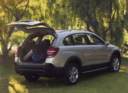 Chevrolet ya no ofrece la Captiva