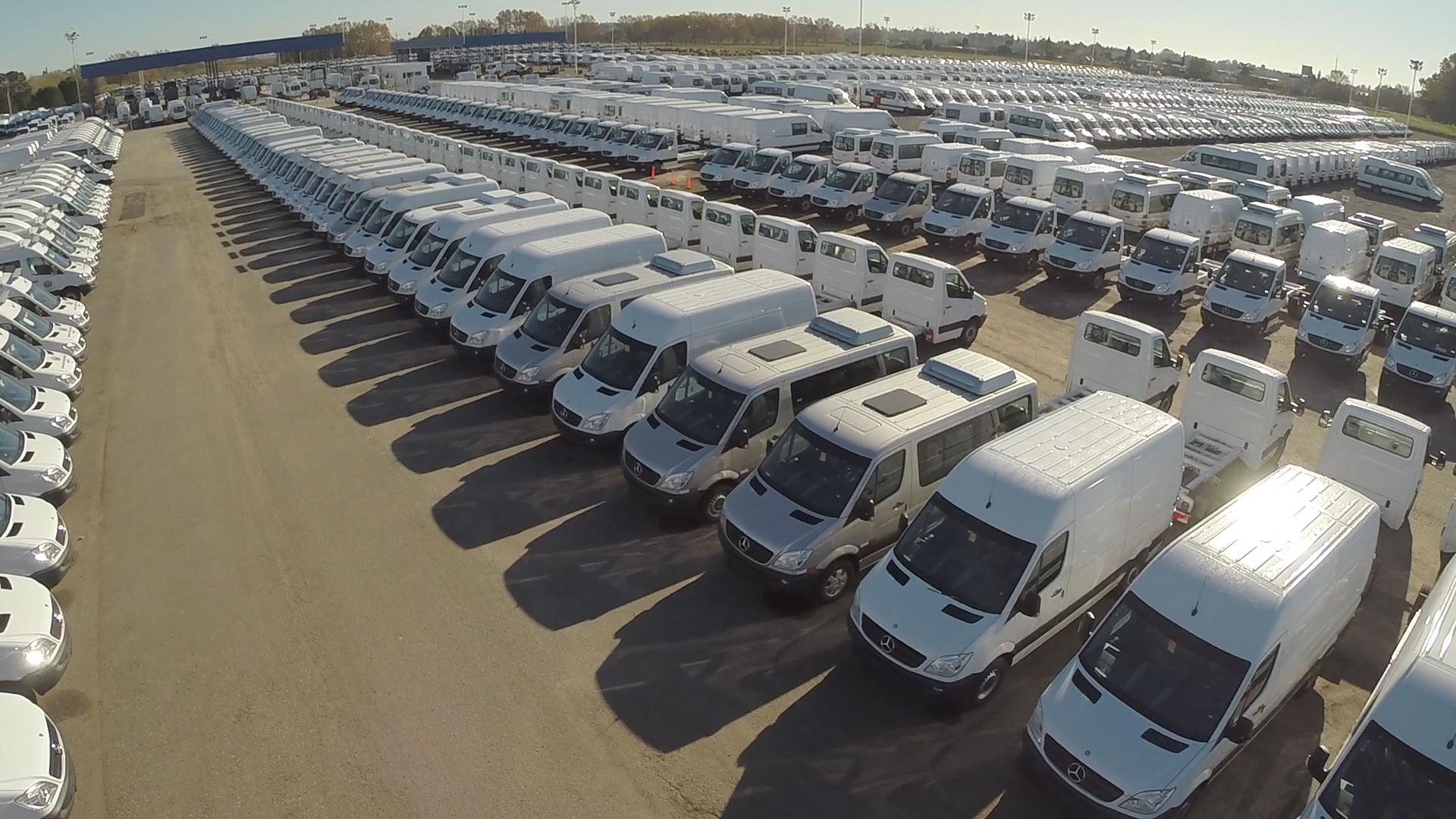 Mercedes ya exportó 10.000 Sprinter a Estados Unidos