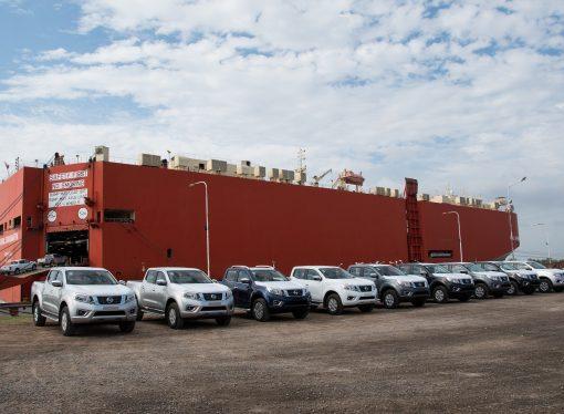 Nissan ya exporta la Frontier a Brasil