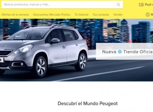 Peugeot abre una tienda en Mercado Libre