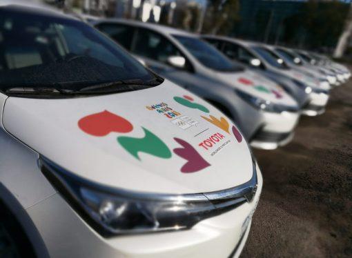 Toyota junto a los Juegos Olímpicos de la Juventud