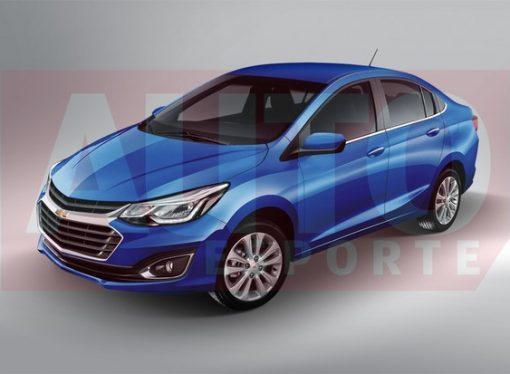 Así podría ser el nuevo Chevrolet Prisma