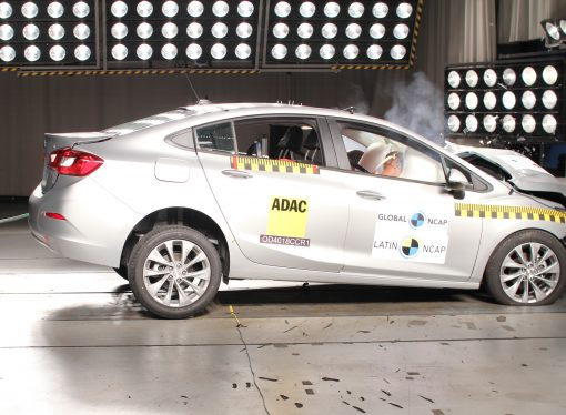 Latin NCAP: cuatro estrellas para el Chevrolet Cruze