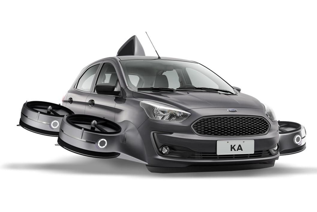 Las locas creaciones de Ford sobre el Ka