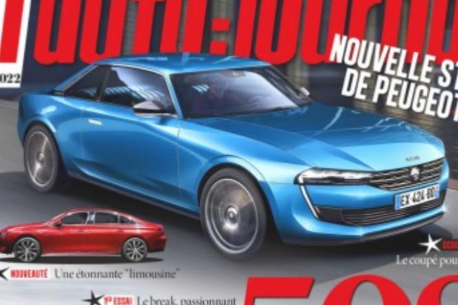 En Francia sueñan con el Peugeot 508 coupé