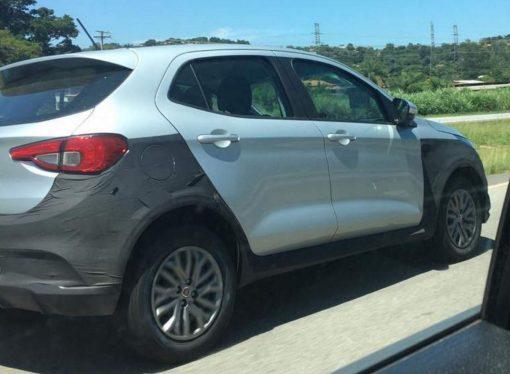 Fiat Brasil prueba el Argo Adventure