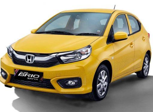 Así es el Brio, el hatch que Honda registró en Brasil
