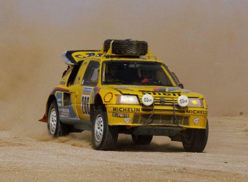 14 autos que ganaron el Dakar