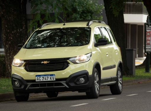 Prueba: Chevrolet Spin Activ7