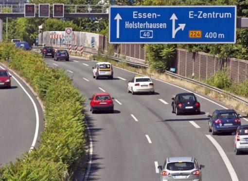 La polución podría acabar con las Autobahn sin límite de velocidad