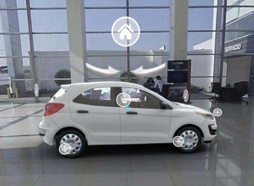 Ford presenta su concesionario virtual