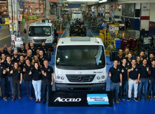 Mercedes comienza la producción del Accelo en la Argentina