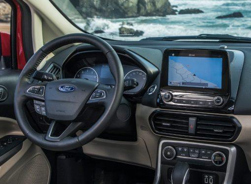 Ford suma pantalla táctil a toda la gama del EcoSport