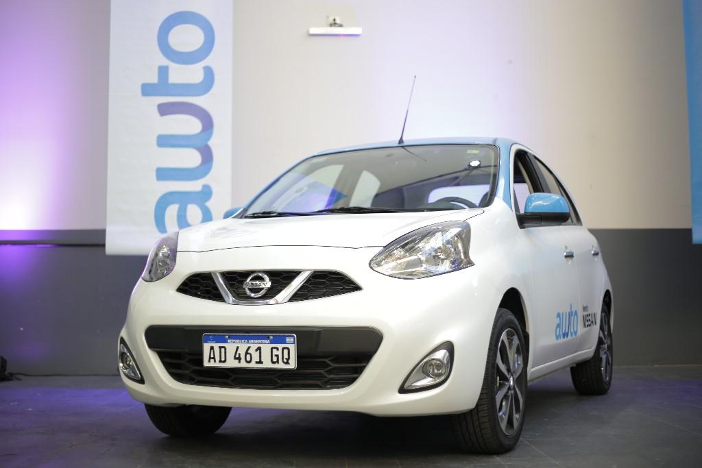 Nissan y Awto presentan su sistema de carsharing