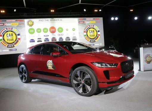 Jaguar I-Pace, auto del año europeo