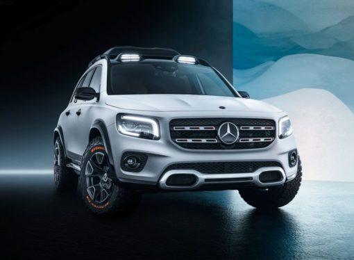 Mercedes anticipa el GLB de producción