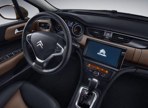 El Citroën C4 renueva su interior en China