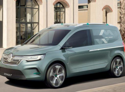 ZE Concept: Renault adelanta la nueva Kangoo