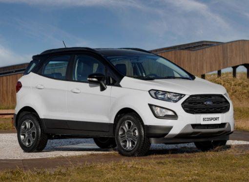 El Ford EcoSport gana pintura bicolor en Brasil