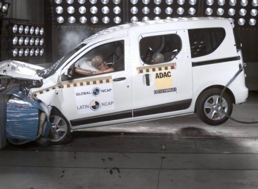 LatinNCAP: tres estrellas para el Renault Kangoo