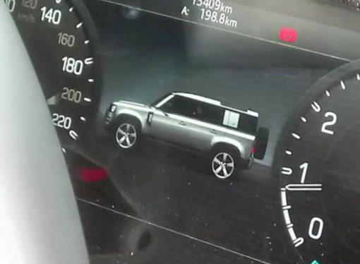 Se filtra el diseño del Land Rover Defender