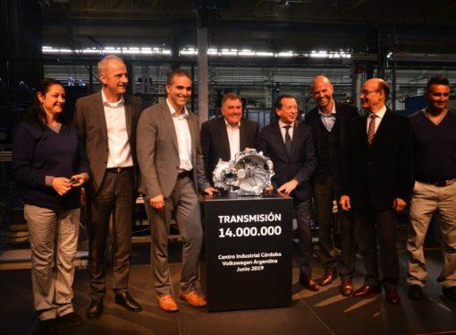 Volkswagen produjo 14 millones de cajas en Córdoba