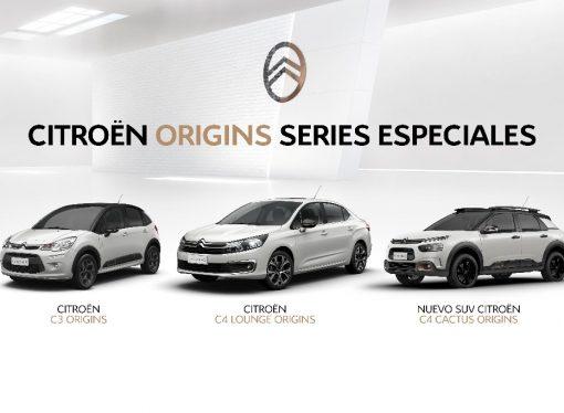 Citroën lanza la serie Origins para C3, C4 Cactus y C4 Lounge