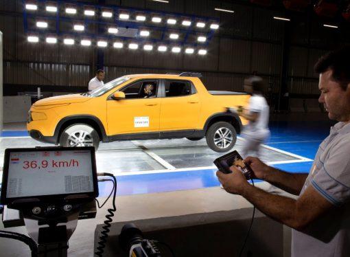 Fiat inaugura su propio centro de crash test en Brasil