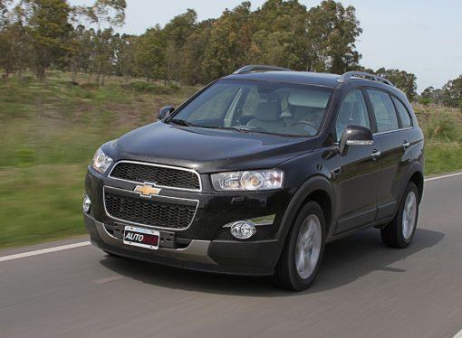 Prueba: Chevrolet Captiva 2.2 VCDi LTZ