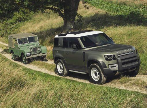 Así es la nueva generación del Land Rover Defender