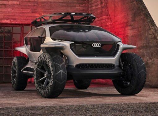 Audi AI:Trail, el todo terreno del futuro