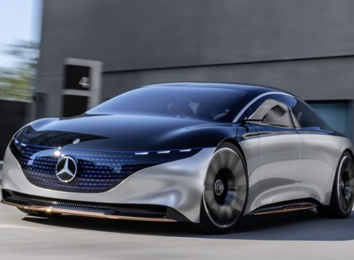 Vision EQS: la Clase S eléctrica de Mercedes