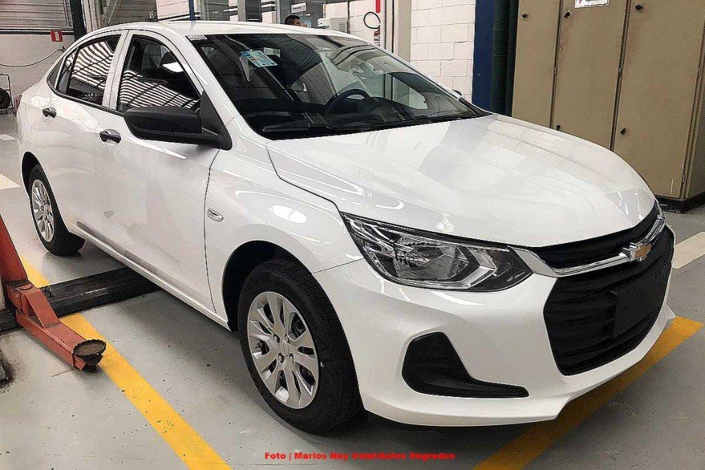 Asi Es El Nuevo Chevrolet Onix Basico Autoweb Argentina
