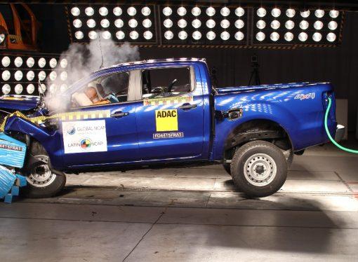 Latin NCAP sube a cuatro las estrellas de la Ford Ranger