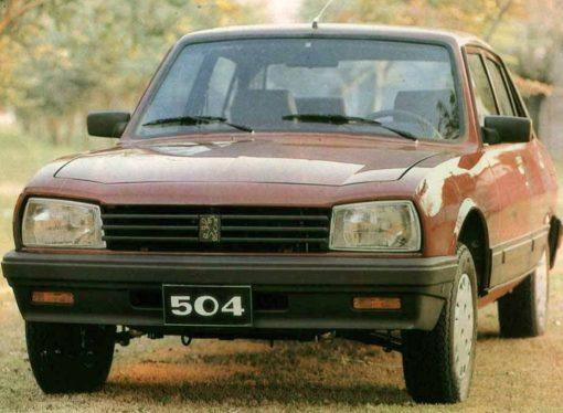 Hace 20 años se despedía el Peugeot 504 argentino