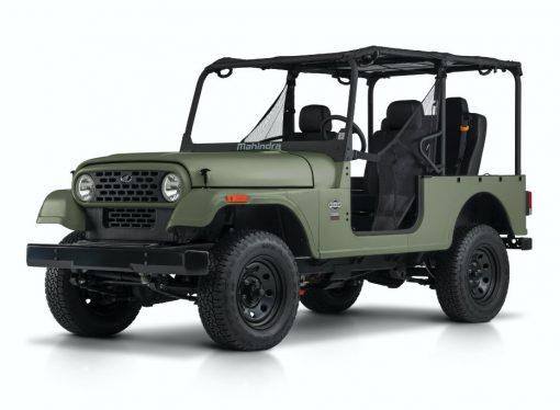 Mahindra cambia su diseño por una demanda de Jeep